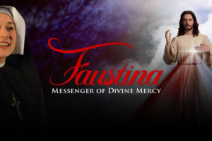 "Come to the ""Faustina: Messenger of Divine Mercy"" performance tonight at Immaculate Conception"