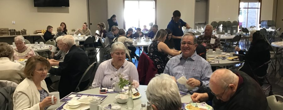 Another successful KofC Breakfast at Immaculate Conception
