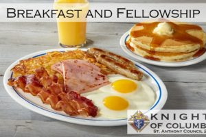 Don't miss breakfast at Immaculate Conception January 13th