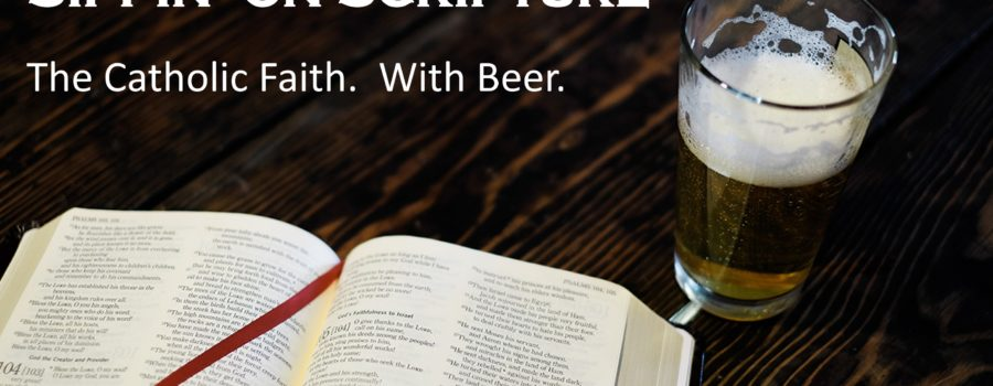 Join us at the next Sippin' on Scripture – February 27, 2020