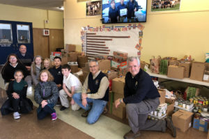 Regis St. Mary Food Drive was a great success
