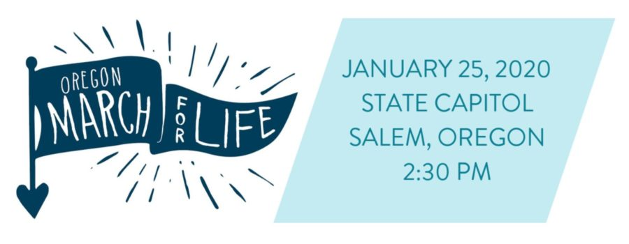 Join the Oregon March for Life January 25, 2020
