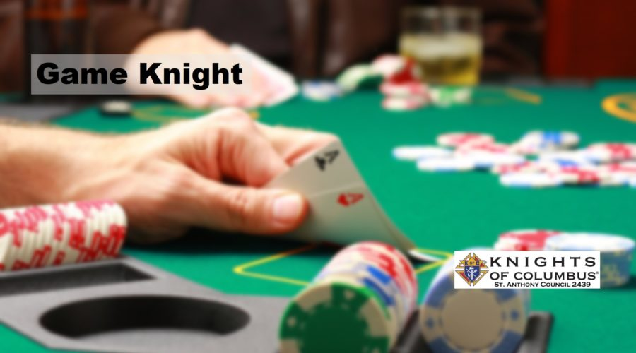 Join Our March Game Knight – March 24th at 6:30 pm