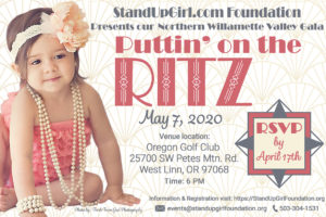 Support the StandUpGirl Foundation – Attend Puttin' on the Ritz West Linn