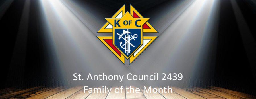 Family of the Month – Glenn Hilton