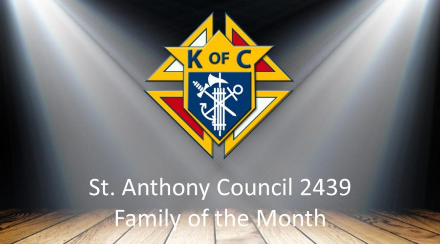 Family of the Month – Ron Etzel